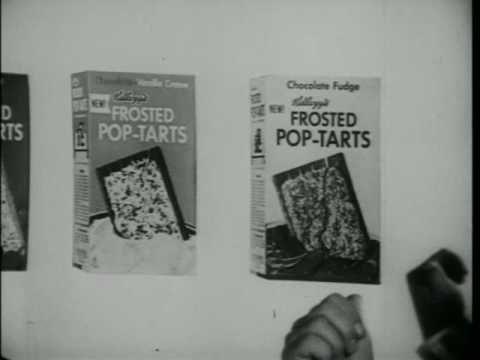 Vintage Kelloggs Pop Tart Commercial
