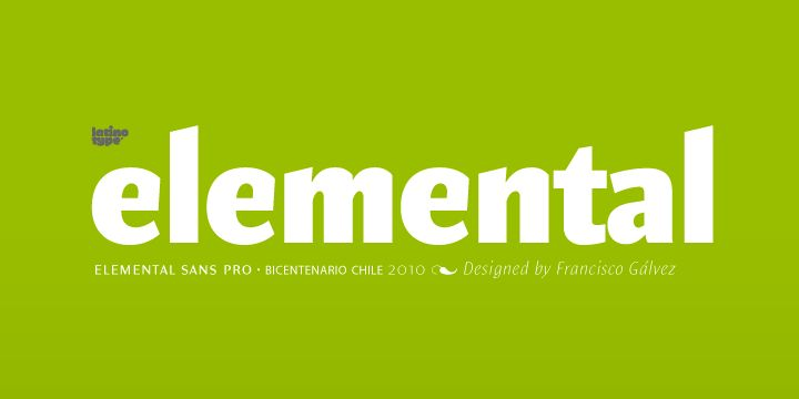 Nice humanist font by Francisco Galvez, 8 weights.