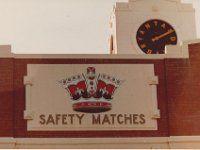 Bryant - May Safety Matches, (from Balmain St)  Richmond VIC Jun1984 32-30B