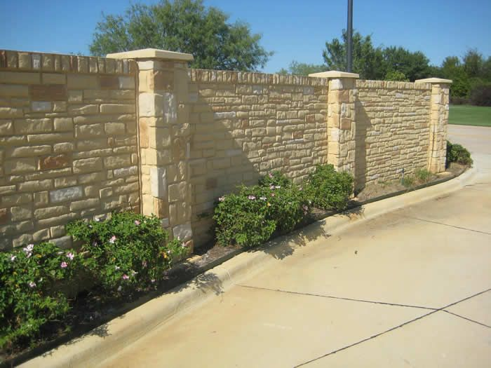 17 Best Images About Concrete Fence On Pinterest Fence