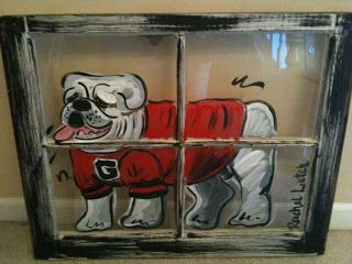 uga artwork - Google Search... I need one of these for our sports room...