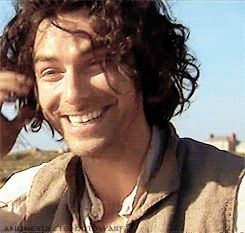 Aidan Turner (gif) - via http://anunexpectedhotdwarf.tumblr.com/post/89177431544/aidan-on-the-bbc-news-today