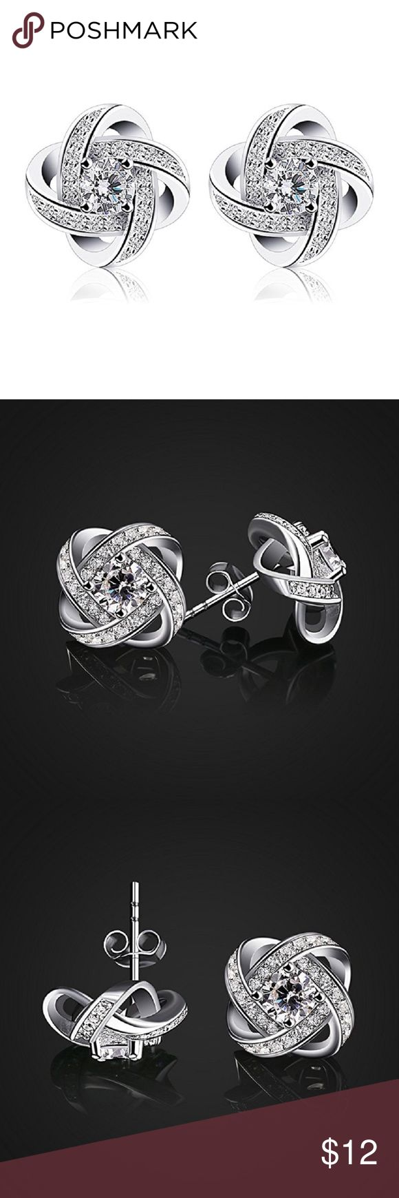 ❤️❤️CZ Gem stone Stud Earrings❤️❤️ ❤️❤️Only Today Buy any two Jewelry Get the 3rd one free❤️❤️ Prices will depend the highest two- For example ' if you pick jewelry $9,$10 and $8, the prices will be 9+ 10= 19 and you will get the 8 dollars jewelry free, limited in stock, today only ❤️❤️ Jewelry Earrings