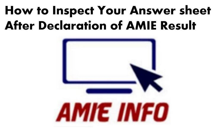 If any AMIE student is not happy with AMIE result, then do not worry IEI offers facility of re verification of Answer sheet but this would be only arithmetic correction in totaling of marks and any omission/deletion in evaluation within 15 days from the date of declaration of results at HQs of the Institution on the prescribed Performa as given Continue reading   How to Inspect Your Answer sheet after Declaration of AMIE Result→