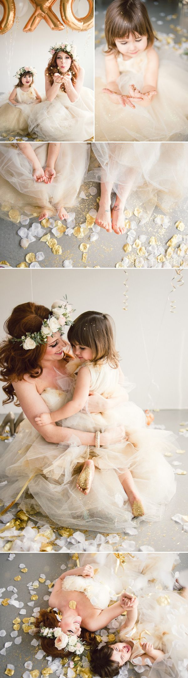 Sweet Glitter Tea Party Styled Shoot