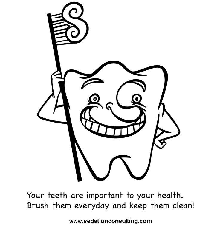 33 best Dental Hygiene Printables For Children images on