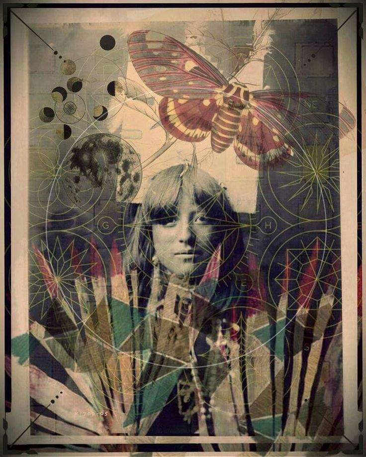 Universal child. Rory Robinson 2015 #collage #firstnations #art