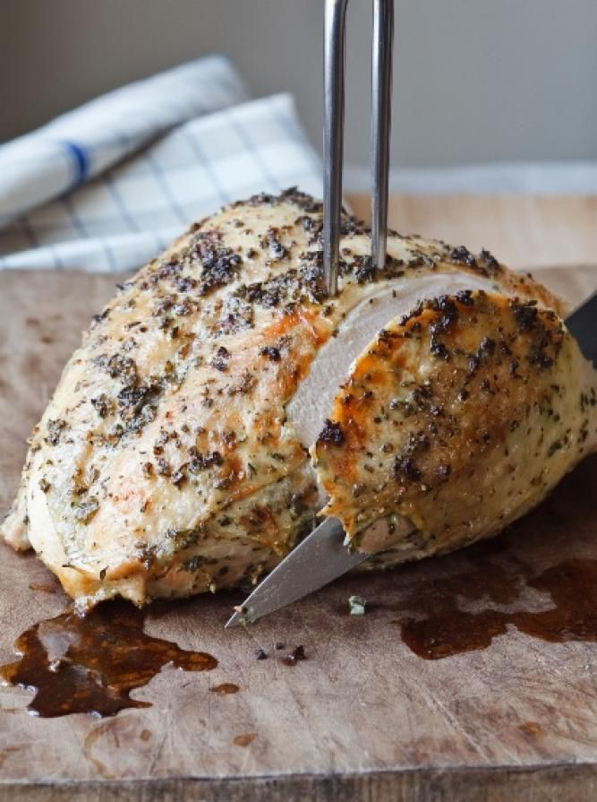 The Barefoot Contessa's Herb-Roasted Turkey Breast Recipe | The Daily Meal