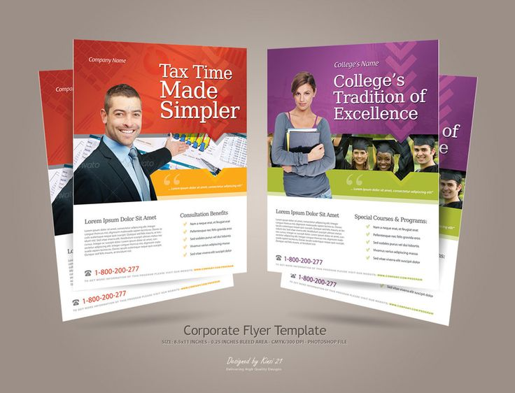 36 best Corporate newsletters, email blasts, and flyers images on - corporate flyer template