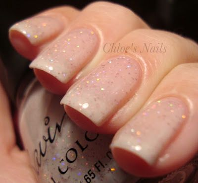 Love this look. Nude nails are in right now and they go great with anything you wear