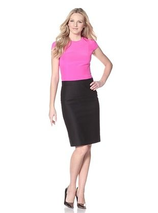 Honor Women's Cap Sleeve Crepe Top