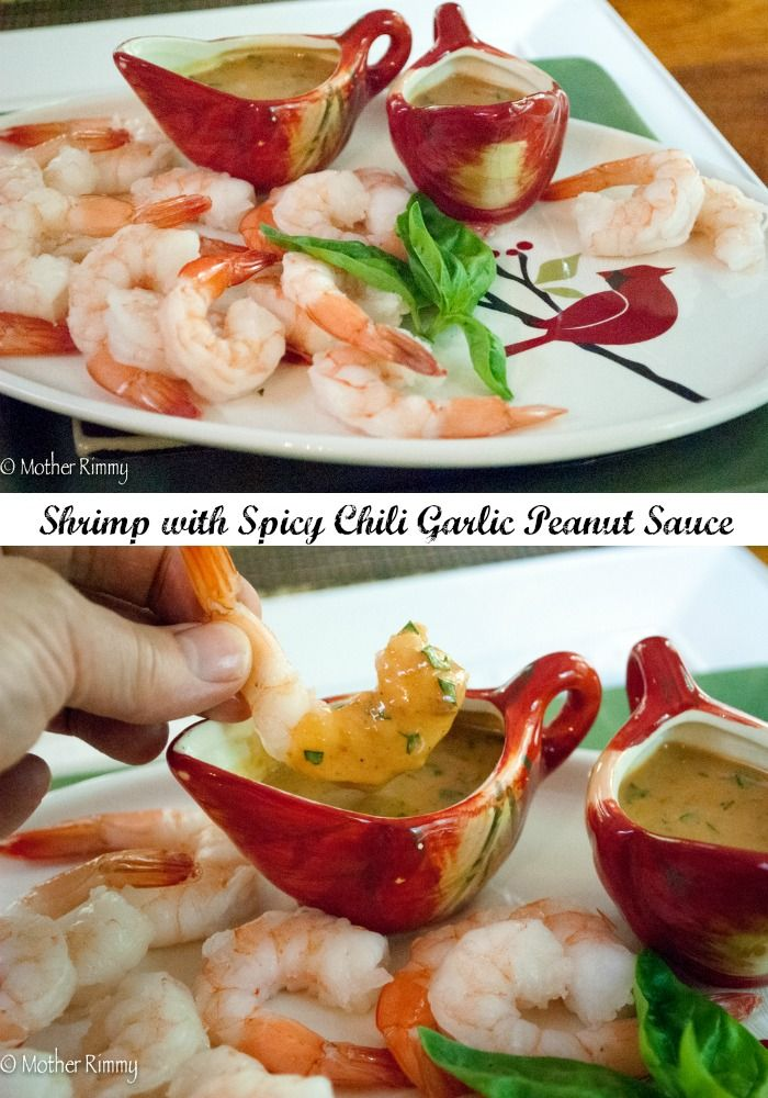Roasted Shrimp Appetizer With Spicy Peanut Sauce Recipes — Dishmaps