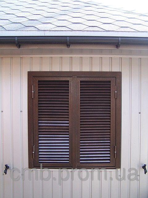 Ставні металеві. Захист вікон та дверей., фото 1