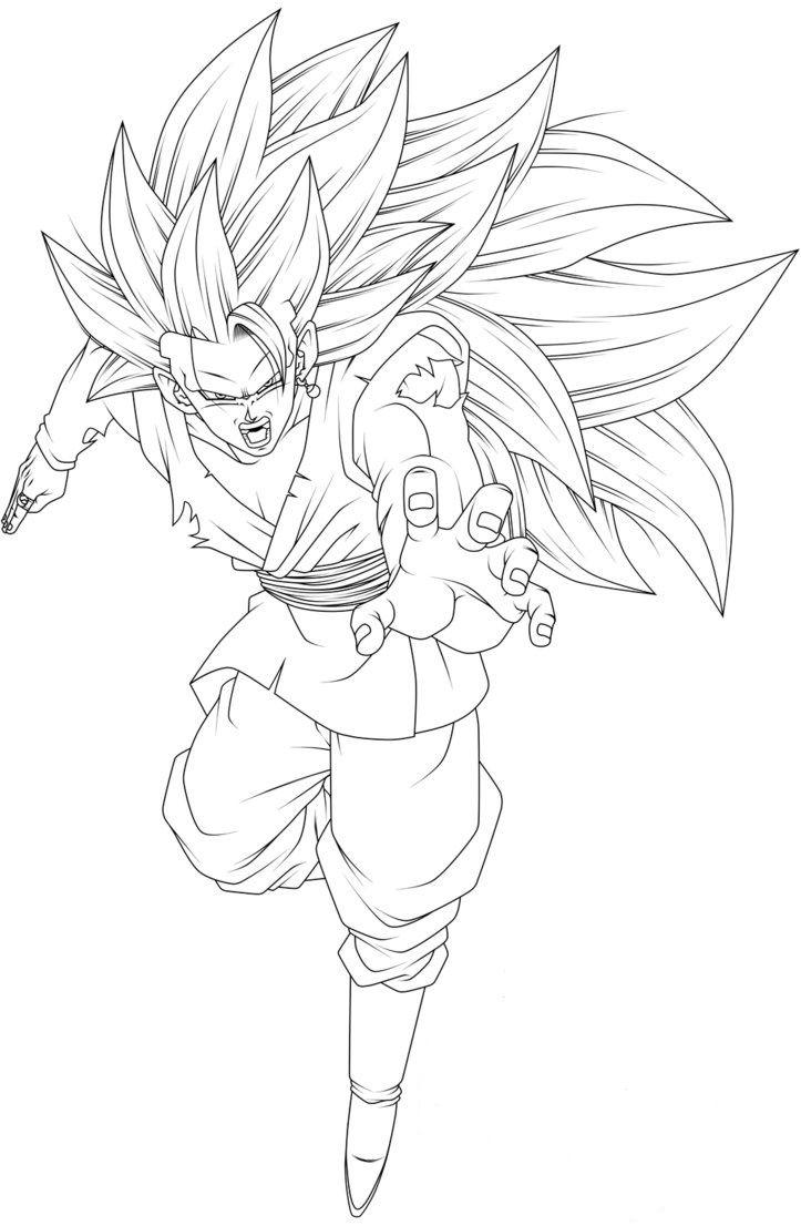 Goku Fase 3 Para Colorear Como Dibujar A Goku Goku Y Black Dibujo De Goku