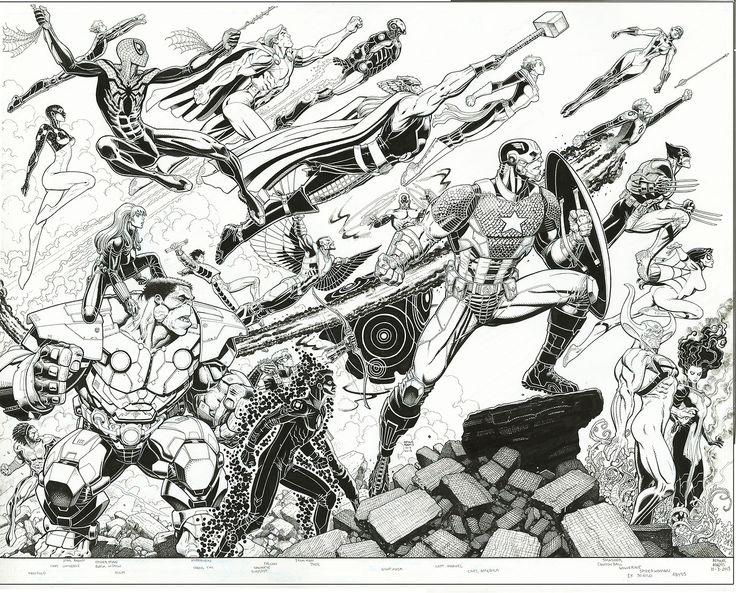 Avengers World #1 by Arthur Adams *