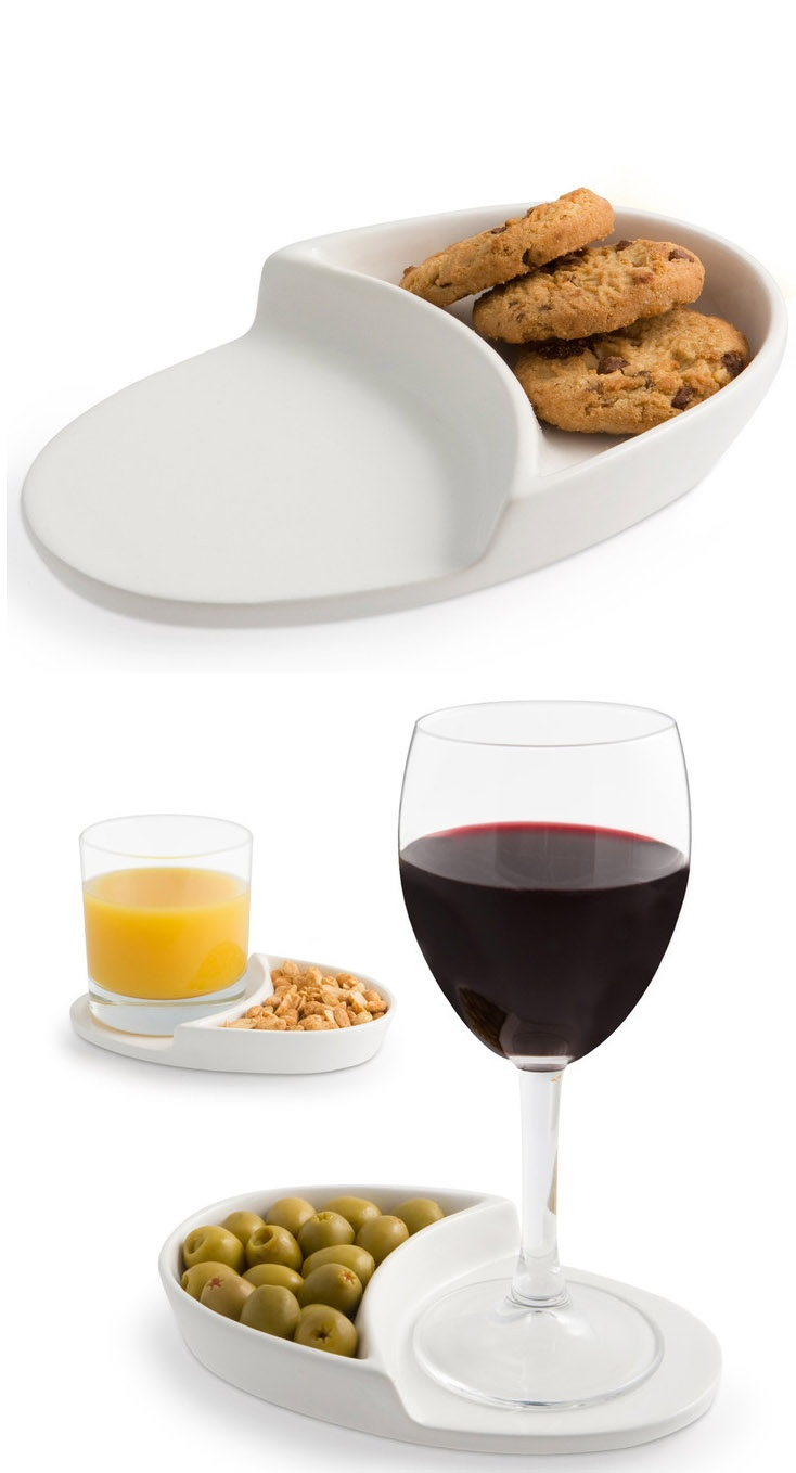 Nibble Coaster - a place for a drink + snack