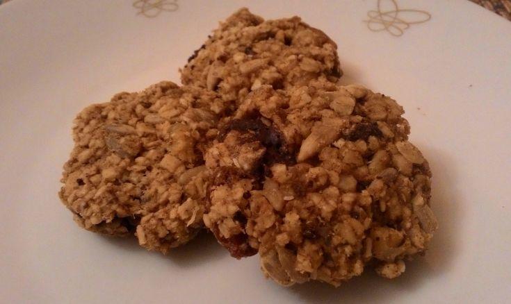 Škoricové sušienky s ovsenými vločkami a čokoládou