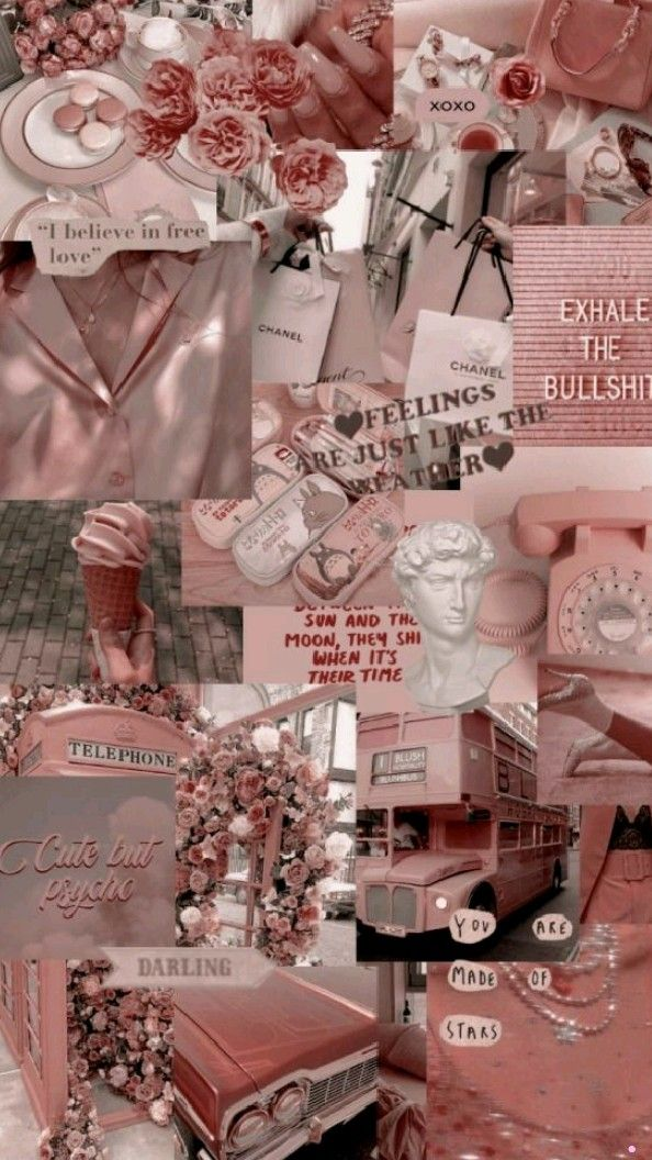 Iphone Wallpaper Tumblr Aesthetic, Pink Wallpaper Iphone, Iphone Background Wallpaper, Retro Wallpaper, Aesthetic Pastel Wallpaper, Aesthetic Backgrounds, Aesthetic Wallpapers, Pastel Pink Wallpaper, Aesthetic Lockscreens
