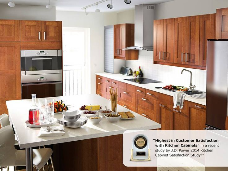 """Great news! IKEA ranked """"Highest in Customer Satisfaction with Kitchen Cabinets"""" in the J.D. Power 2014 Kitchen Cabinet Satisfaction Study! www.ikea-usa.com/kitchens"""