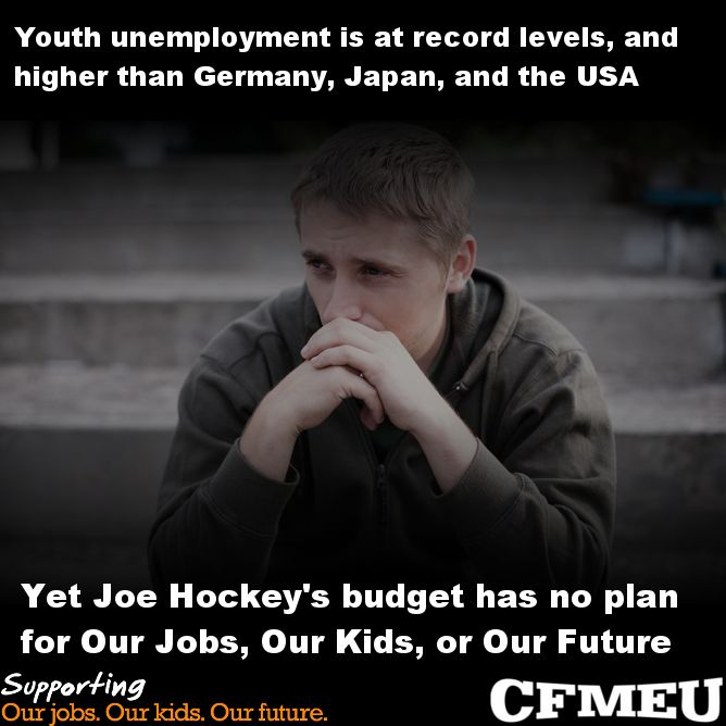 THE TRAGEDY OF AN INCOMPETENT AND HEARTLESS LNP GOVERNMENT & YOUTH UNEMPLOYMENT Photo by Why Mr. Abbott?