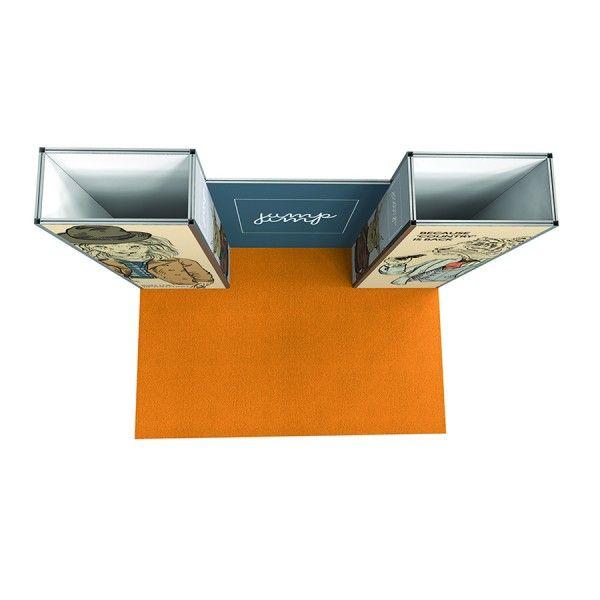 Stands. Vector Lite. Dixplay. Todos nuestros expositores personalizados son desmontables. El montaje es sencillo y se puede hacer directamente en destino por el propio cliente, ahorrando costes de transporte. ¡¡¡¡SÚPER PRECIO!!!!!