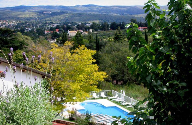Vista desde balcón del desayunador