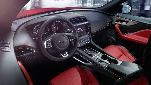 Jaguar F Pace Petrol Fuel Economy In 2020 Jaguar Suv Interior Jaguar F Type Jaguar Suv