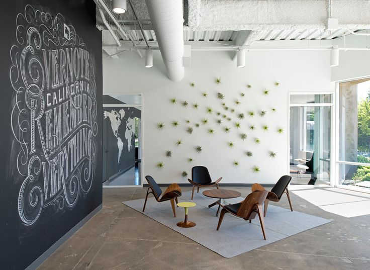 Evernote Offices Designed With Creative Details