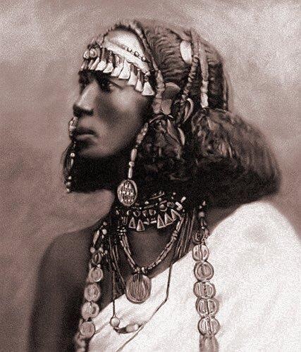 Somali woman. ca 1900
