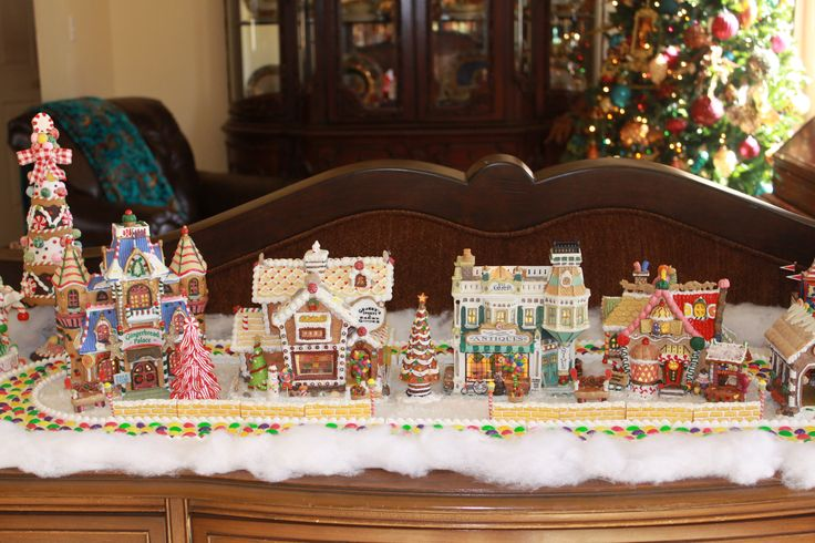 Lemax Sugar n Spice Gingerbread collection.
