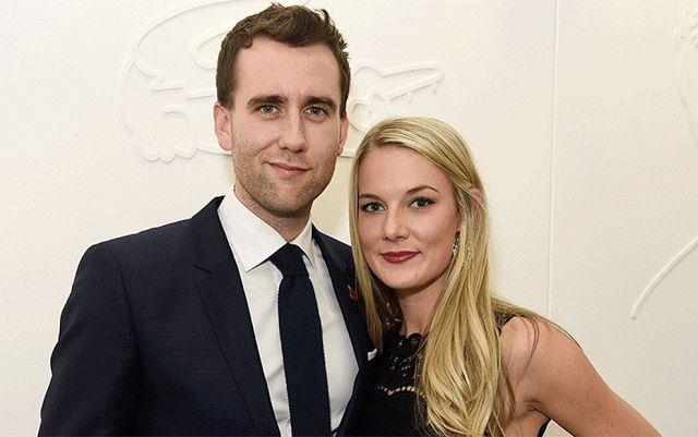 Harry Potter star Matthew Lewis is engaged to girlfriend Angela Jones