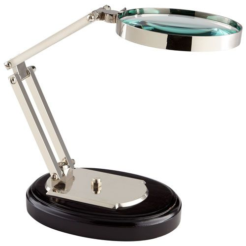 Nickel and Black Focal Point Magnifier