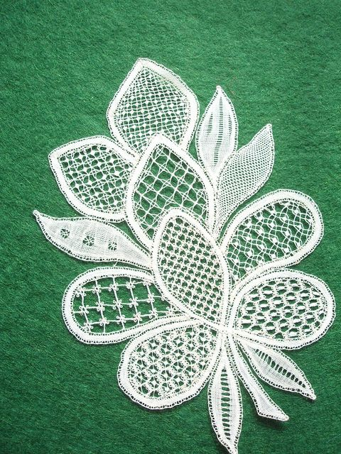 Honiton Lace by Pauline Cochrane | Flickr - Photo Sharing! From Perryman Voysey