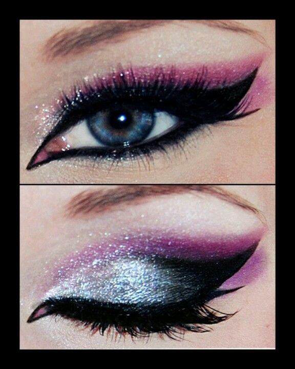 #purple eye shadow!:)
