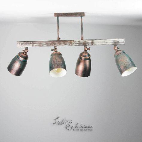 Ceiling Lamp Shabby 4x E27 Ceiling Lamp Vintage Lamp Ceiling Living Room Interior Ebay Wallfixtures Deckenlampe Deckenlampe Vintage Deckenlampe Kuche