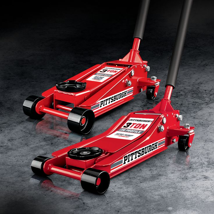Buy the All New Pittsburgh 3 Ton Floor Jack for Only 89