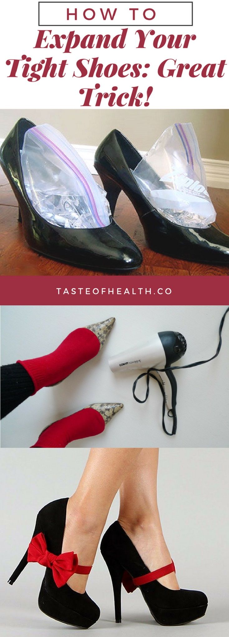 How To Expand Your Tight Shoes: Great Trick!