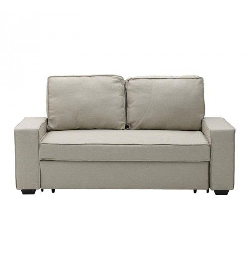 FABRIC 3SEATTER SOFA IN CREME COLOR 176X102X91 (176X191X45)