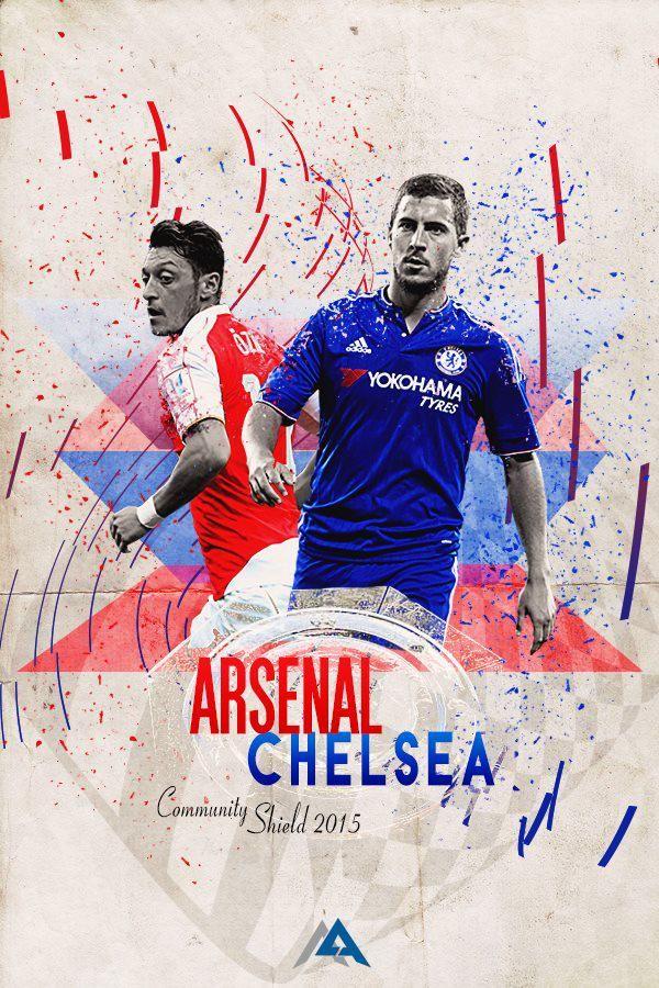 TouchofÖzil on Community shield, Arsenal chelsea, Arsenal