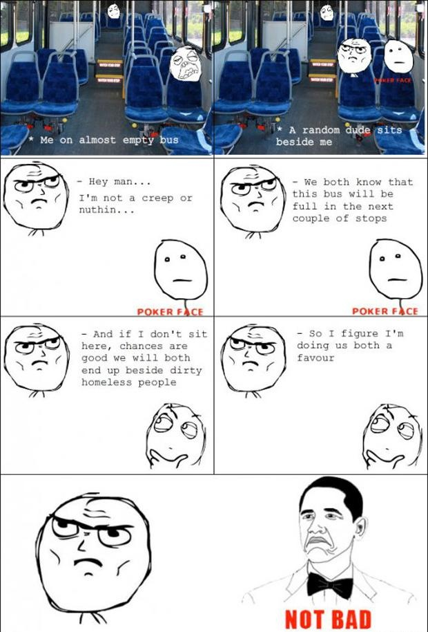 Le' Bus Ride Rage Comic