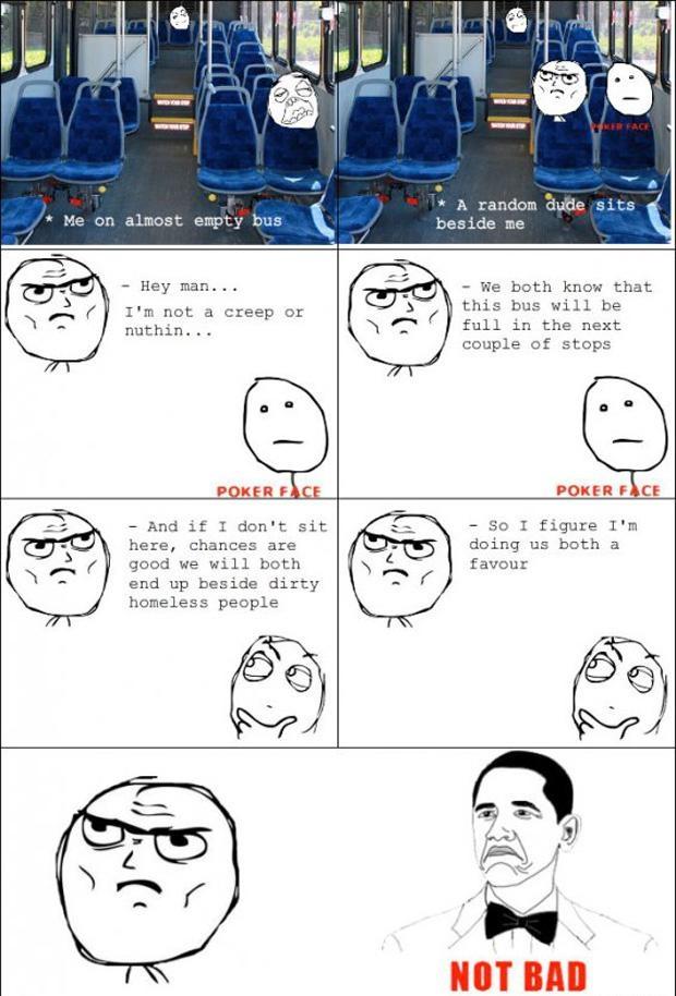 Le' Bus Ride Rage Comic