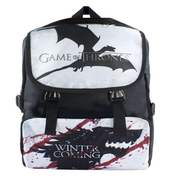 Game of Thrones Shoulder Backpack //Price: $43.68 & FREE Shipping //     #jonsnowlives #TeamStark