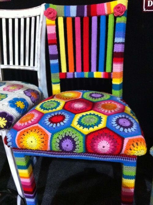 Might do this with my kitchen chairs.