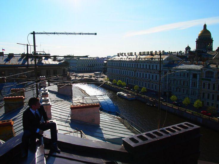 Крыши Санкт-Петербурга.