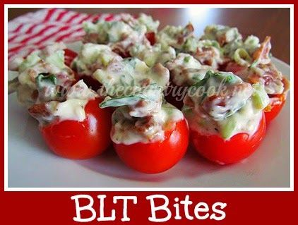 The Country Cook: BLT Bites {you might want to triple this recipe - SO good!}