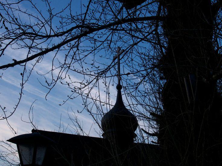 Вечер в Старом Симонове Evening in Old Simon by Andrew Barkhatov on 500px