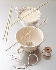 Teacup Candle Favors :  wedding candles diy favors Teacup3 teacup3.jpg
