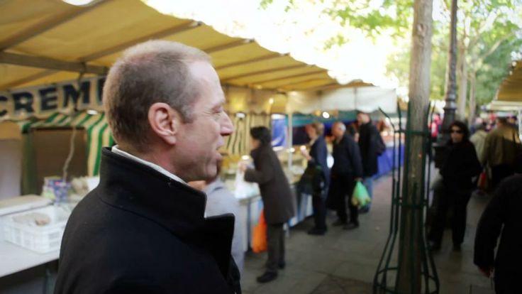 Paris Market with David Lebovitz I want this to be my life!!