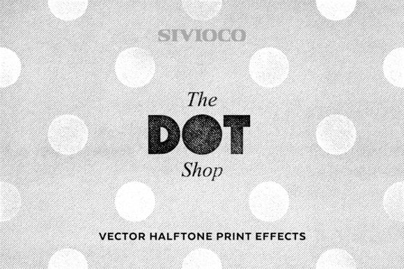 Replicate the age of retro pop art with this set of 15 custom halftone print Actions. Includes a cheat sheet with examples so you can get inspired before you create your own.