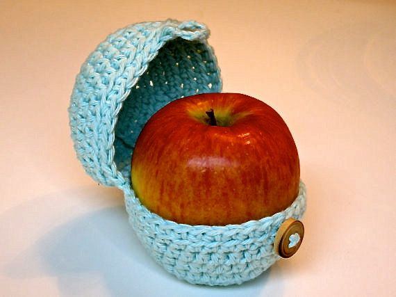 Crochet Hugs Apple Cozy Sweater Cover